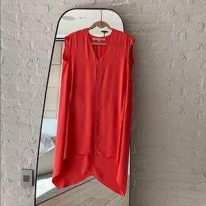 Orange Rachel Dress